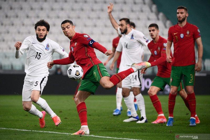 Portugal hanya menang tipis lawan Azerbaijan