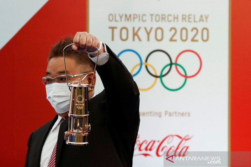 Kirab obor Olimpiade Tokyo untuk pertama kali dibatalkan