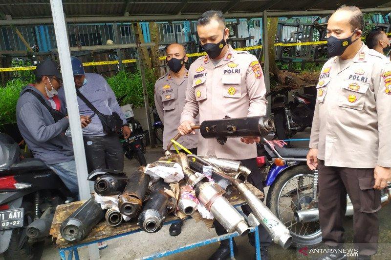 Polisi amankan 129 motor yang terobos jalan ditutup di Bandung