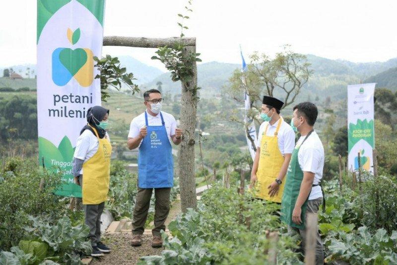 Bank BJB siapkan dana KUR Rp1,1 triliun untuk program petani milenial