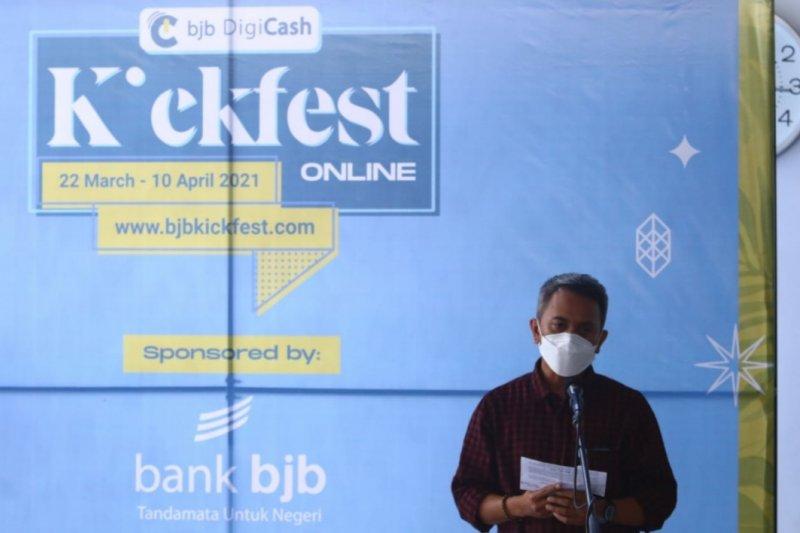 Bank BJB kolaborasi ratusan UMKM gelar BJB DigiCash KickFest daring