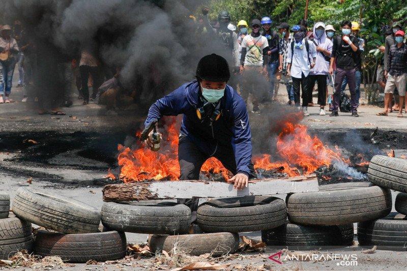 Militer Myanmar bersalah atas kekerasan 'membabi buta'
