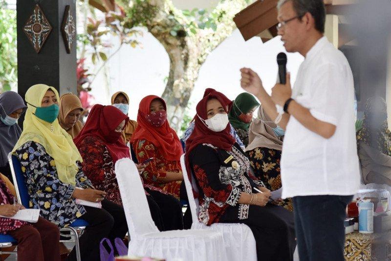 Bupati mendorong KPT Sleman pelopori ketahanan pangan daerah