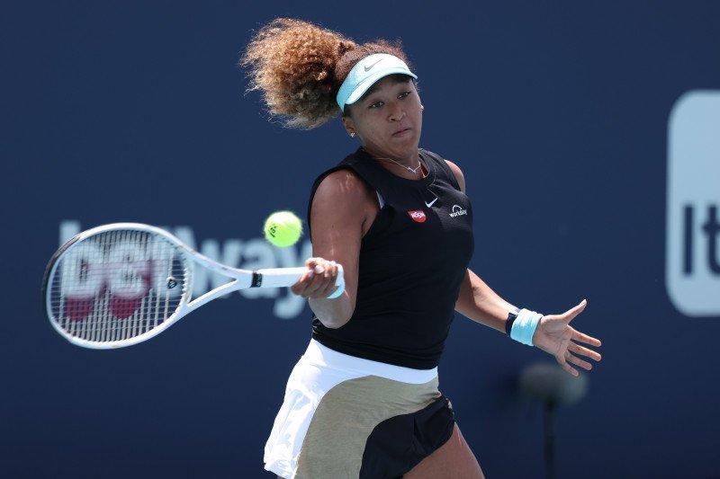 Osaka lolos dari hambatan babak kedua Miami Open