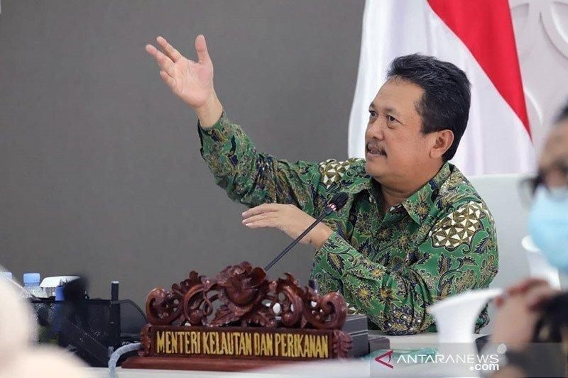 Menteri Kelautan dan Perikanan Trenggono sosialisasikan inovasi KKP aplikasi Laut Nusantara