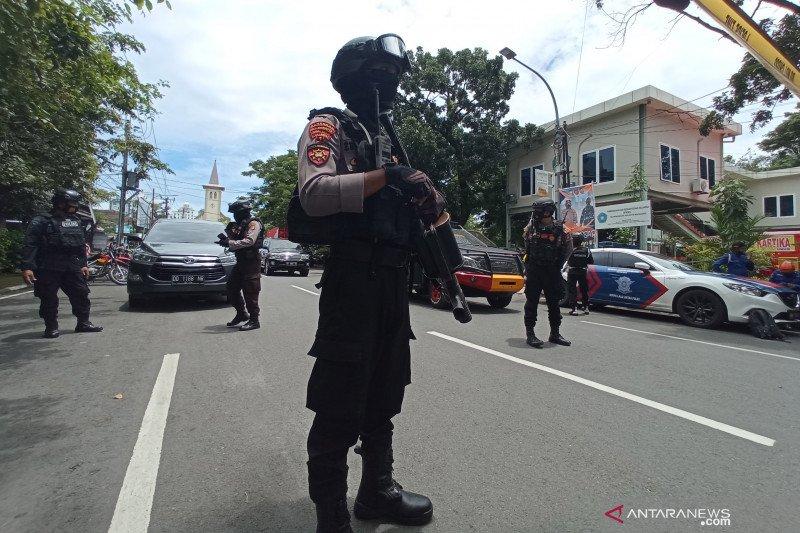 Bareskrim: Laporan sementara ledakan di Gereja Katedral Makassar dari bom bunuh diri