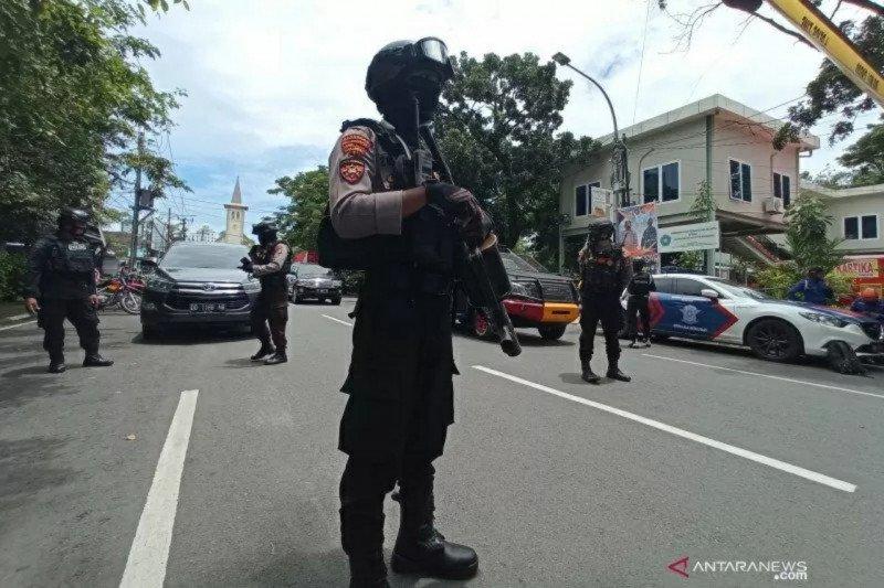 Bareskrim: Laporan sementara ledakan di Makassar dari bom bunuh diri