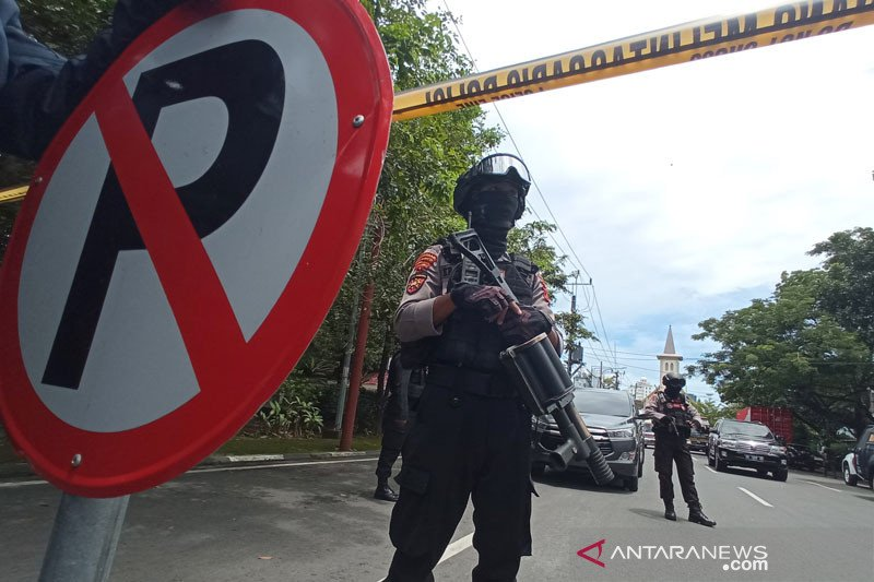 Kemkominfo imbau masyarakat tak sebarkan konten ledakan bom bunuh diri Makassar