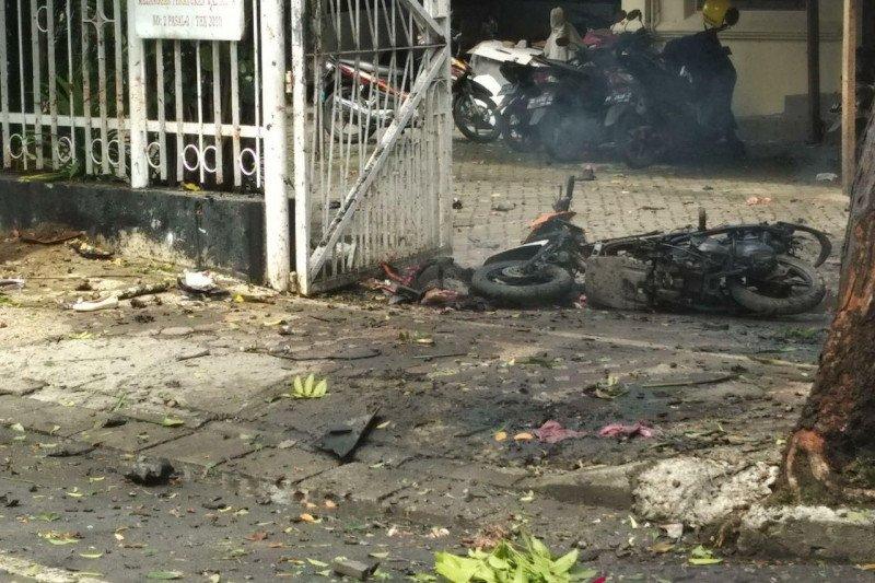 Saksi mata pelaku bom bunuh diri di Gereja Katedral Makassar duga seorang perempuan