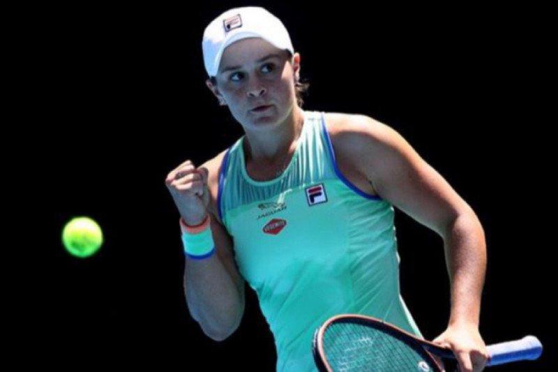 Barty tekuk Azarenka untuk ke perempat final Miami Open 2021