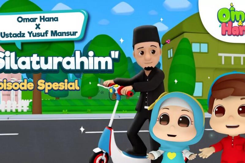 """Animasi Islami """"Omar & Hana"""" kolaborasi dengan ustaz Yusuf Mansur"""
