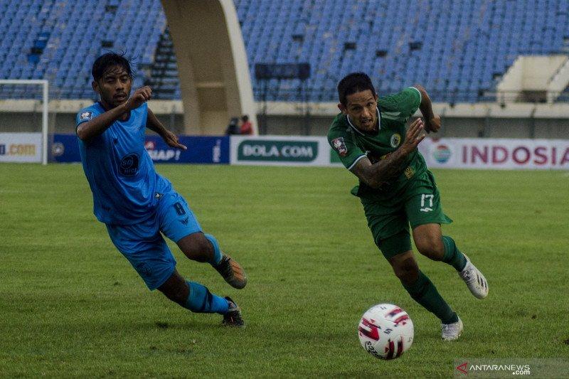 Laga PSS lawan Persela berakhir imbang tanpa gol