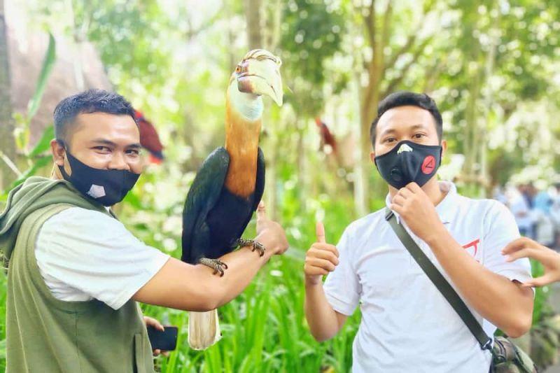 "Humas Polda NTB ""media gathering"" di Kebun Binatang Lombok Wildlife Park"