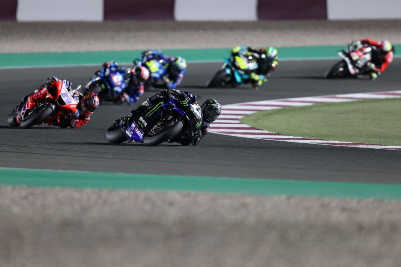 Vinales pecundangi Ducati untuk juarai balapan pembuka MotoGP Qatar