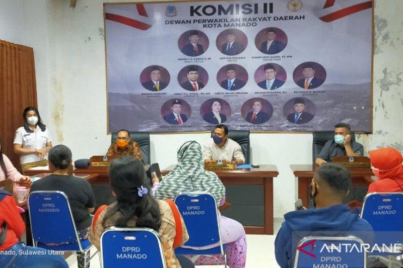 RDP Komisi II DPRD Manado-Pedagang munculkan fakta baru