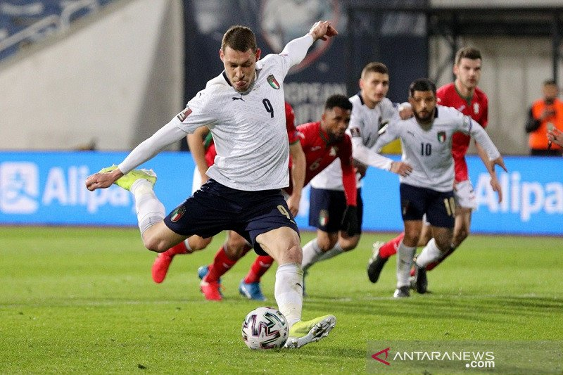 Italia menang meyakinkan  di Bulgaria, Swiss atasi Lithuania