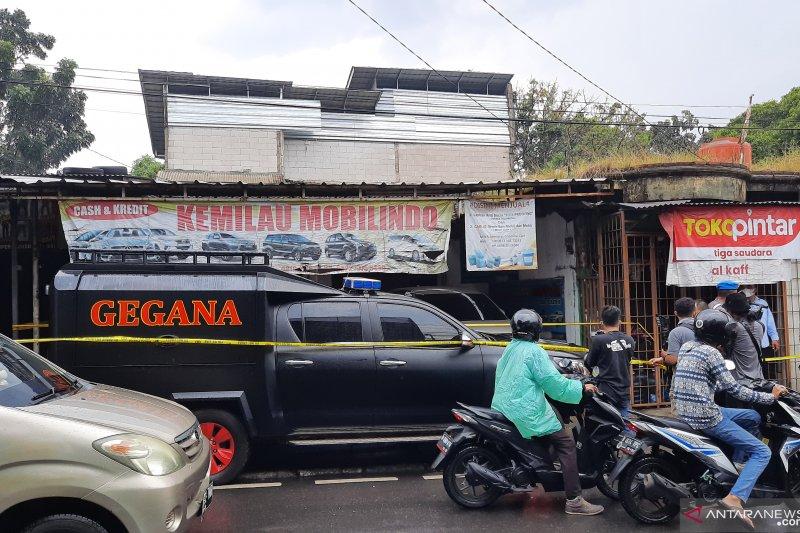 Polisi amankan lokasi penangkapan dua  teroris di Condet