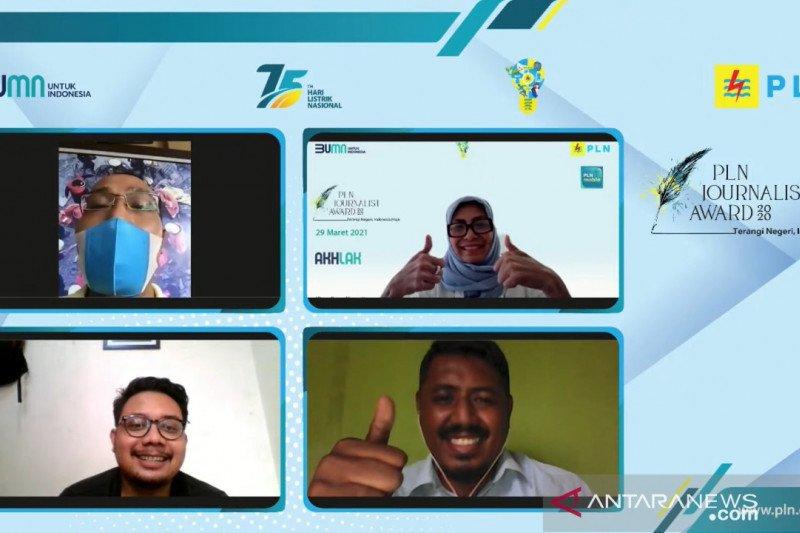 27 awak media juara dalam kompetisi PLN Journalist Award 2020