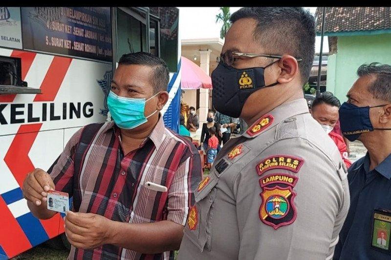 "Program ""Si Gajah Lamsel"" layanan kepolisian sambangi masyarakat di pedesaan"