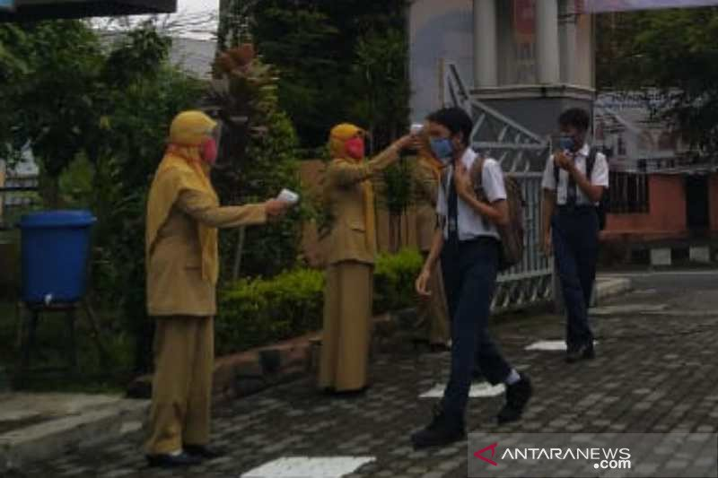 Sejumlah sekolah di Temanggung siapkan simulasi pembelajaran tatap muka