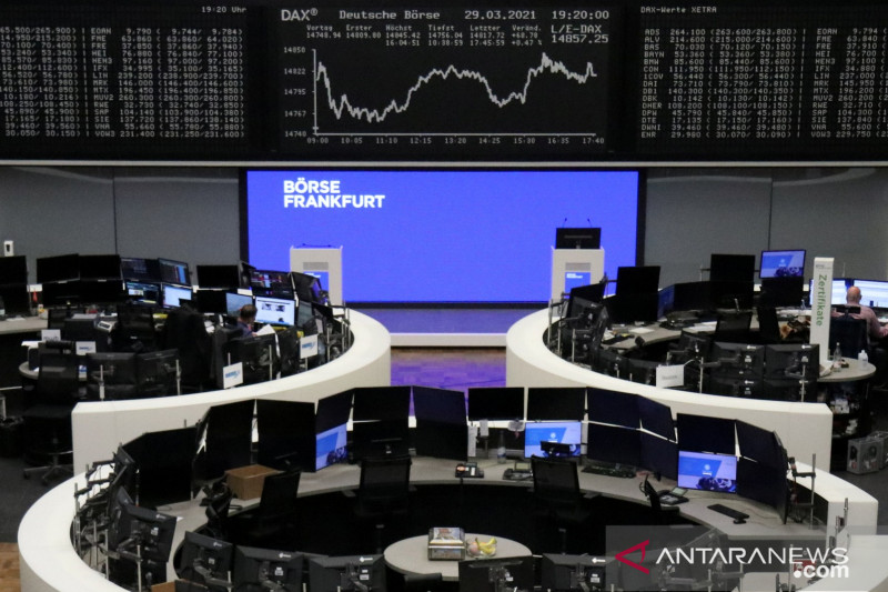 Saham Jerman-indeks DAX 30 jatuh 1,15 persen