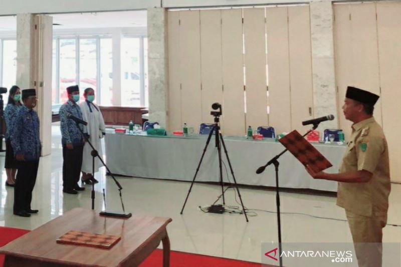 Bupati Sukamara sampaikan sejumlah pesan kepada pejabat yang dilantik