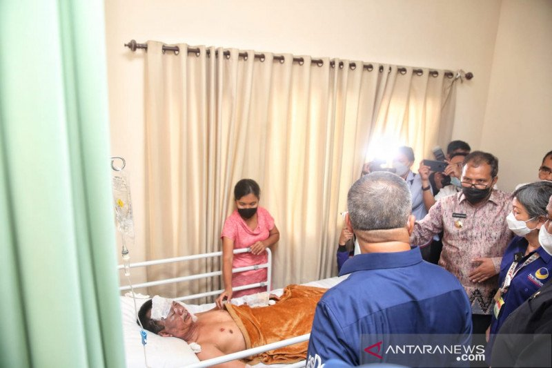 Kisah heroik Cosmas di balik aksi bom bunuh diri di Katedral Makassar
