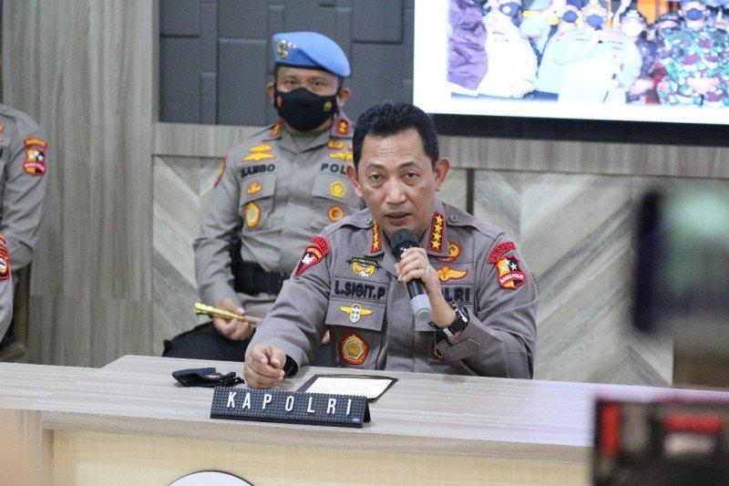 Pascabom bunuh diri, 13 terduga teroris di Jakarta-Makassar-NTB diamankan