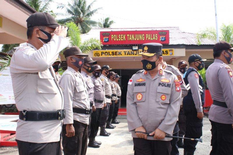 Kunjungi Polsek Tanjung Palas, Kapolda Kaltara ingatkan polisi jadi teladan