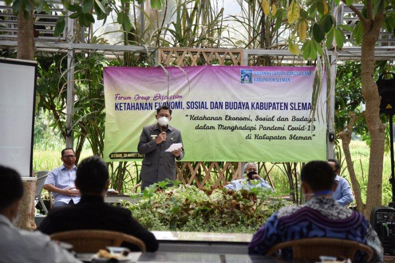 Sleman menggelar diskusi terfokus ekonomi sosial budaya di era pandemi