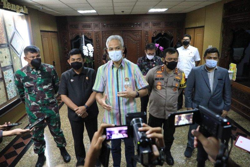 Ganjar: Jawa Tengah tidak terdampak terorisme