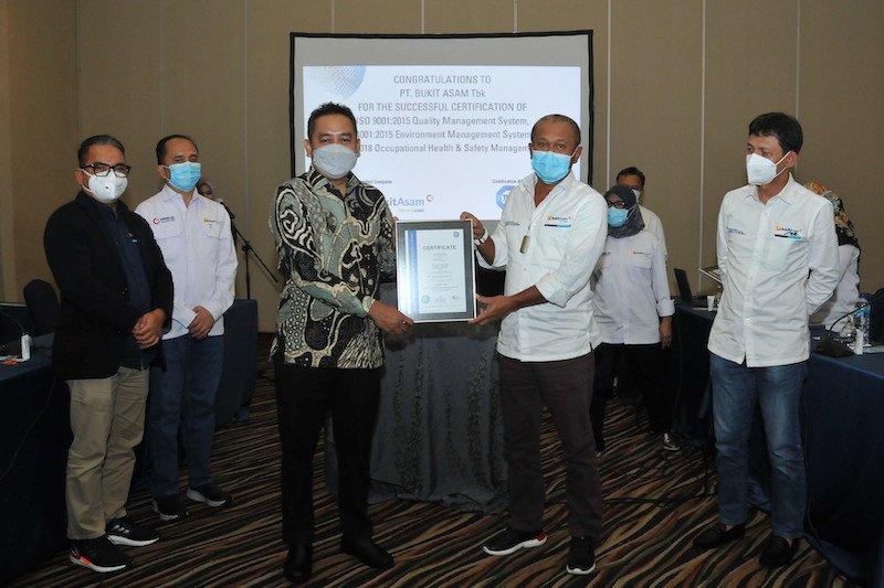 PTBA perbarui sertifikasi ISO, tingkatkan reputasi di pasar global