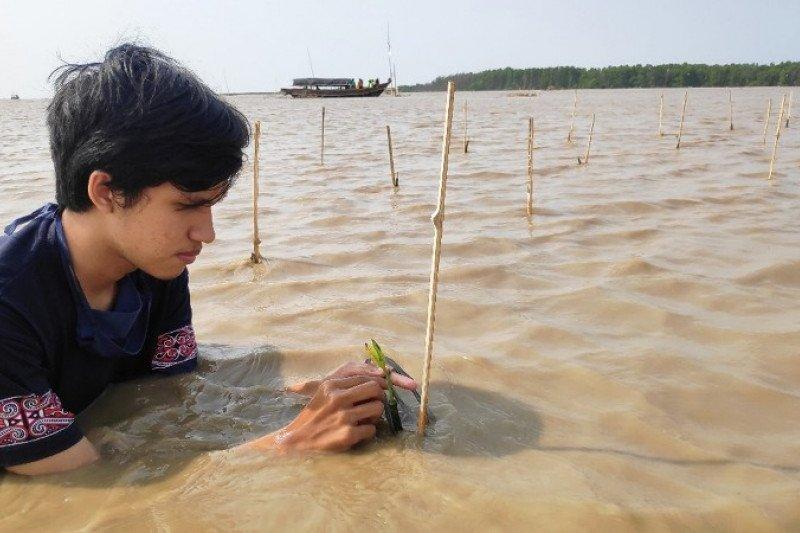 UI tanam bakau untuk konservasi Lutung Jawa di Bekasi