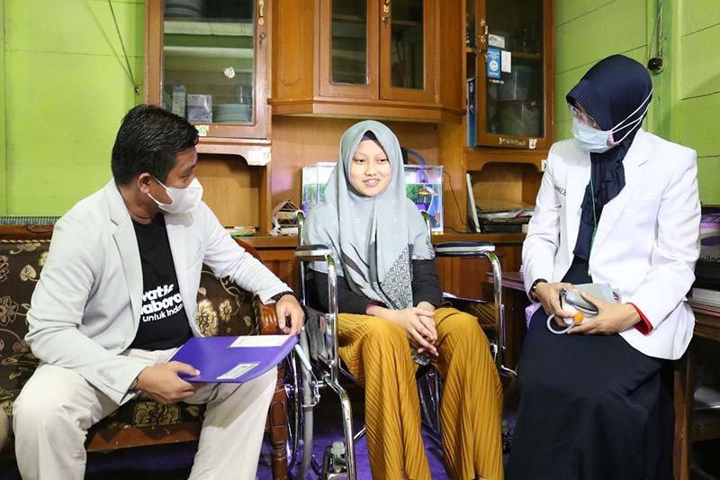 Fakultas Kedokteran UMP dampingi penyandang disabilitas berprestasi