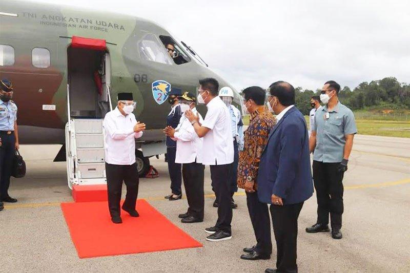 Wapres Ma'ruf harap Bandara HM Sidik beri kontribusi positif