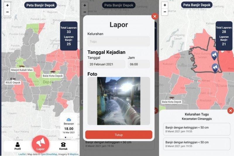"SIL UI kembangkan aplikasi berbasis android ""Lapor Banjir Depok"""