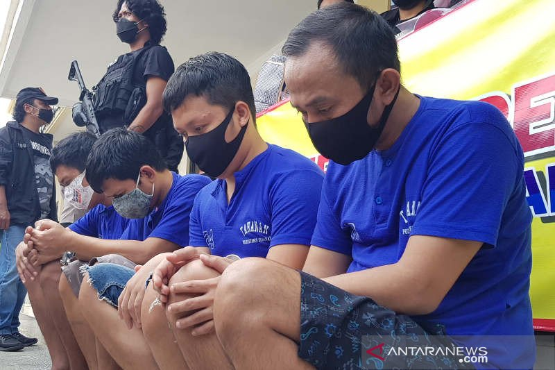 4 anggota komplotan pelaku gendam diringkus