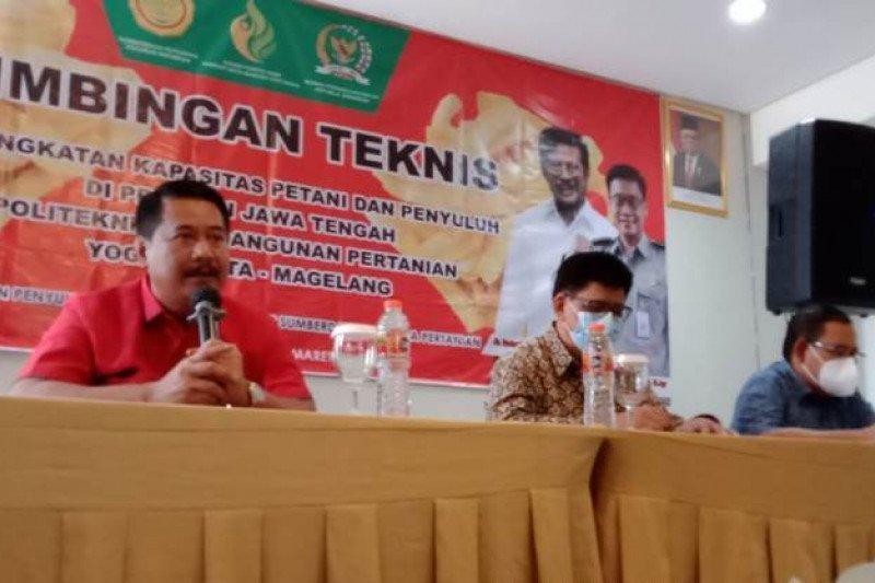 Polbangtan Yoma-DPR melaksanakan Bimtek untuk petani-penyuluh di Cilacap