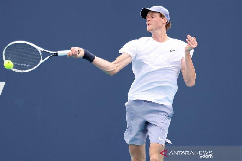 Sinner hadapi Djokovic di babak kedua Monte Carlo Masters