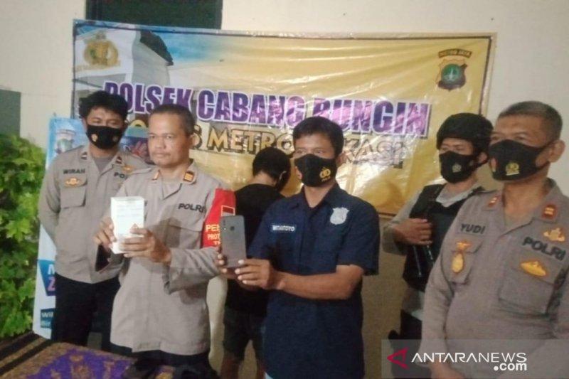 Penjahit keliling jambret ponsel anak perempuan di Bekasi ditangkap