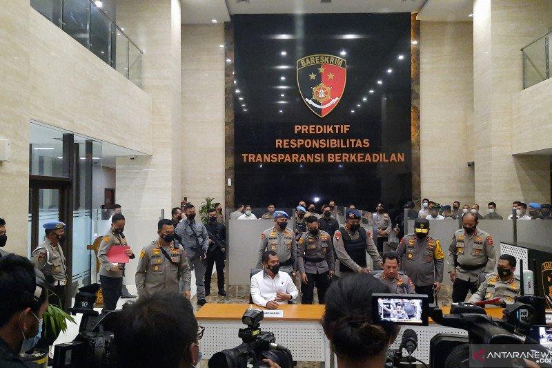 Terduga teroris tembak petugas enam kali saat penyerangan di Mabes Polri