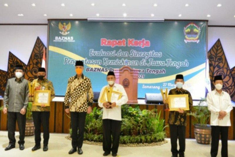 Dukung Program Baznas tertib administrasi, Bank Jateng Syariah siapkan 41.000 Kartu NPWZ