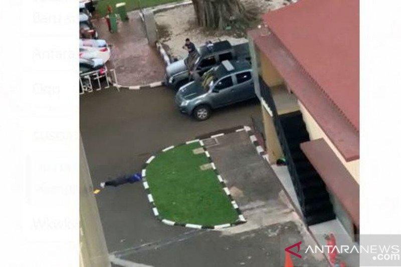 Terduga teroris ditembak polisi