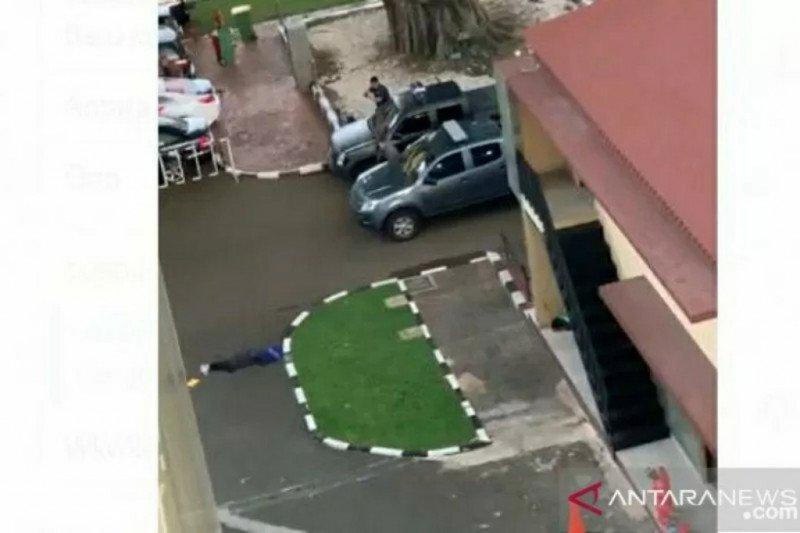 Laporan ANTARA di TKP, mendengar tembakan
