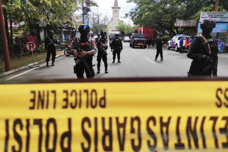 Densus kembali tangkap seorang terduga teroris di Makassar