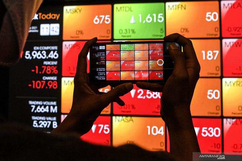 IHSG terkoreksi di tengah kenaikan bursa saham kawasan Asia