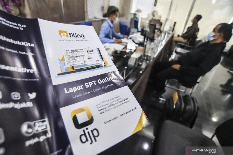DJP catat 12,48 juta wajib pajak lapor SPT Tahunan