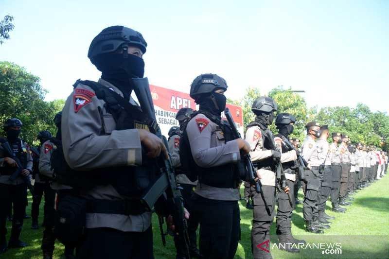 Polresta Sukarta siapkan 500  personel pengamanan ibadah Paskah