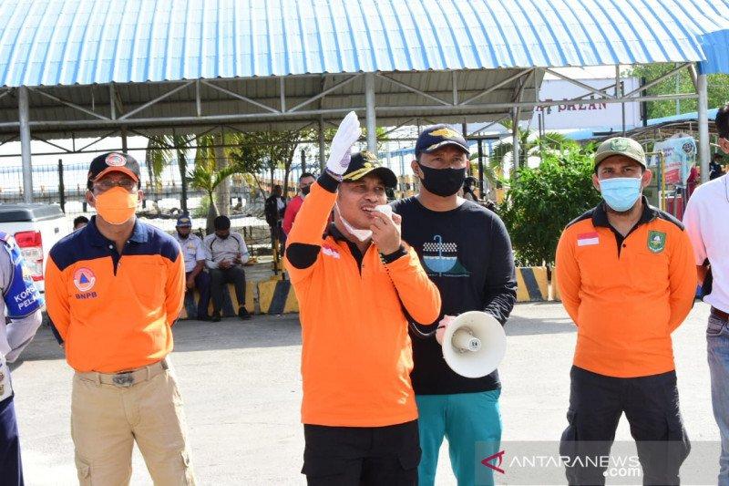 Wakil Bupati Bengkalis ingatkan kebersihan Roro ditingkatkan