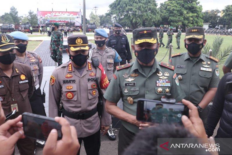 Tim gabungan Polri dan TNI amankan 77 gereja di Kota Bogor